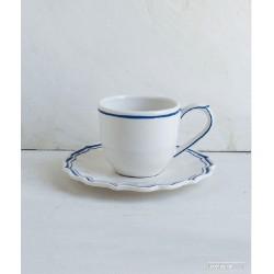 Tazzina caffè con piattino