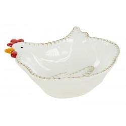 Piatto ciotola gallina