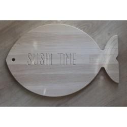 Tagliere pesce in Faggio