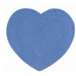 Tovaglietta cuore blu