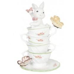 Coniglietto con tazze